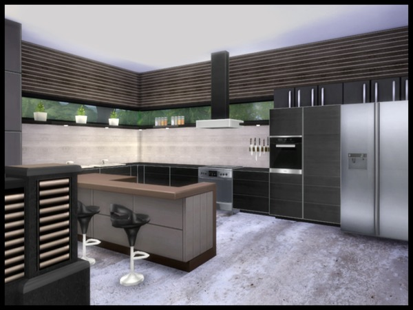 ALTARA modern living by Chemy at TSR image 1450 Sims 4 Updates