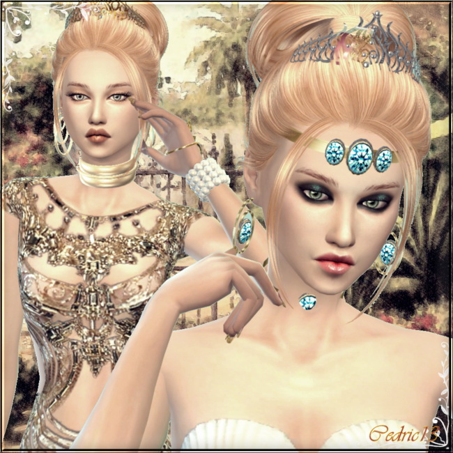 Sims 4 Antinéa by Cedric13 at L'univers de Nicole