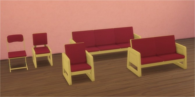 Dorm Seating Amp Bedroom At Veranka 187 Sims 4 Updates