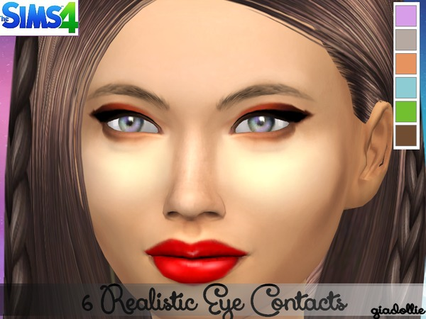 6 Realistic Eye Contacts at TSR image 1470 Sims 4 Updates