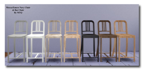 TS2 To TS4 Bar Stools at Msteaqueen image 14718 Sims 4 Updates
