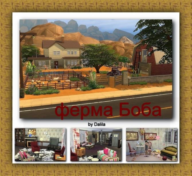 Sims 4 Bob farm at Architectural tricks from Dalila