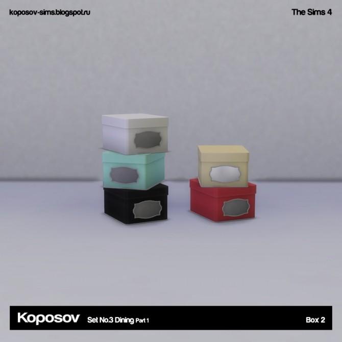 Sims 4 Set No.3 Dining Part 1 at Koposov