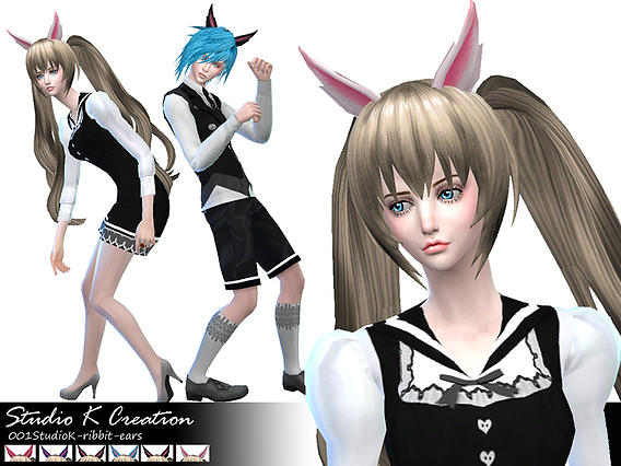Rabbit ears at Studio K Creation image 15010 Sims 4 Updates