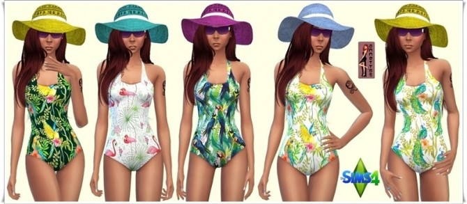 Hawaii Swimsuit at Annett's Sims 4 Welt image 1505 670x293 Sims 4 Updates