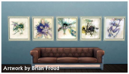 Sims 4 Brian Froud artwork at SimDoughnut