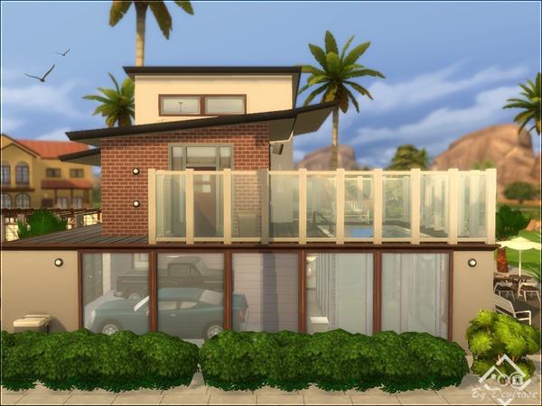 Sims 4 Desert Sun 24 house by Devirose at TSR