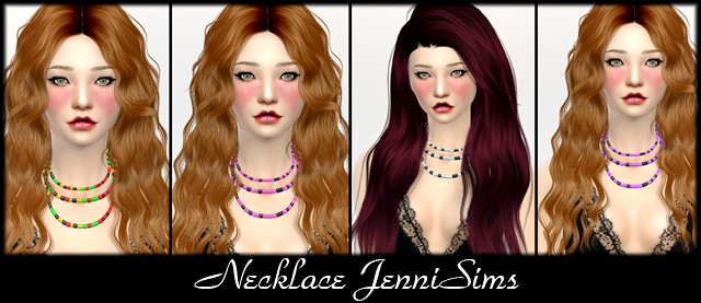 Sims 4 Necklace at Jenni Sims