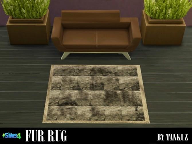 Sims 4 Fur Rugs at Tankuz Sims4