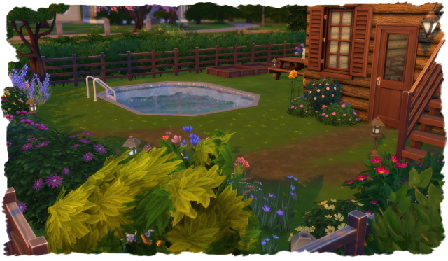 House with small garden by Chalipo at All 4 Sims image 15721 Sims 4 Updates