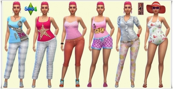 Sims 4 McCollin family at Annett's Sims 4 Welt