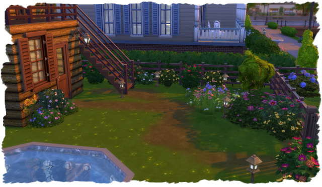 House with small garden by Chalipo at All 4 Sims image 15817 Sims 4 Updates