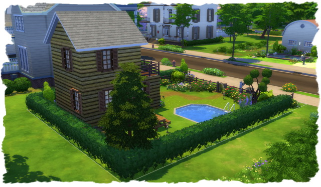 House with small garden by Chalipo at All 4 Sims image 15919 Sims 4 Updates