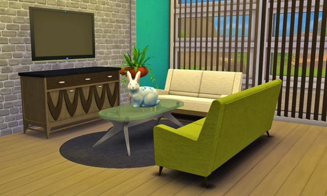 Mid Century Fantasy Set Conversion At Femme Jean 187 Sims 4
