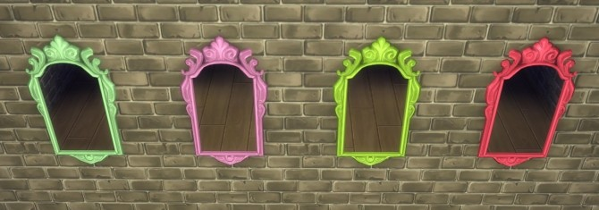 10 Base Game Mirror Recolors at Simpothecary image 16010 670x235 Sims 4 Updates