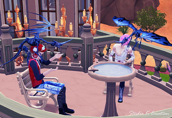 Sims 4 Pterosauria (Dragon) ACC at Studio K Creation