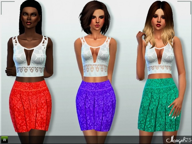Sunny Daze Outfit by Margie at Sims Addictions image 16118 670x503 Sims 4 Updates