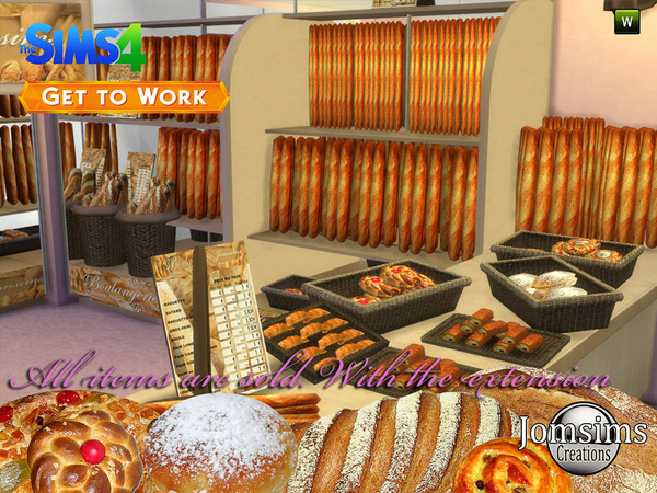 The Bakery 2015 11 Items Set By Jomsims At Tsr 187 Sims 4