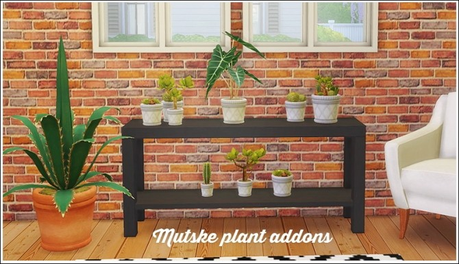 Sims 4 Mutske plant addons 8 conversions at Lina Cherie