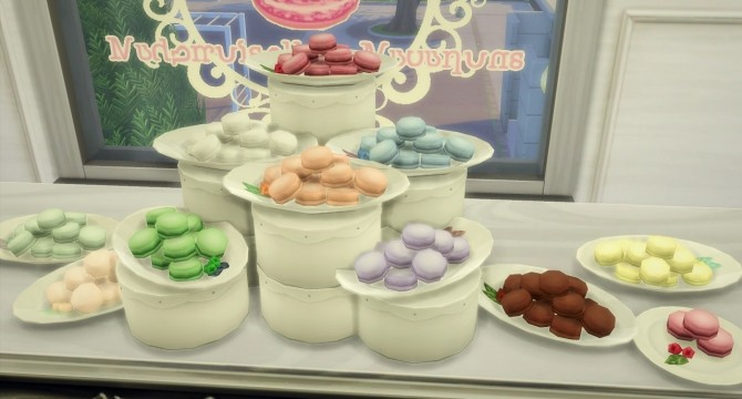 Little Macarons Set at Budgie2budgie image 16318 670x360 Sims 4 Updates