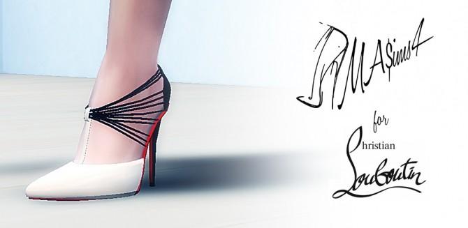 Sims 4 Stiletto Shoes by MrAntonieddu at MA$ims3