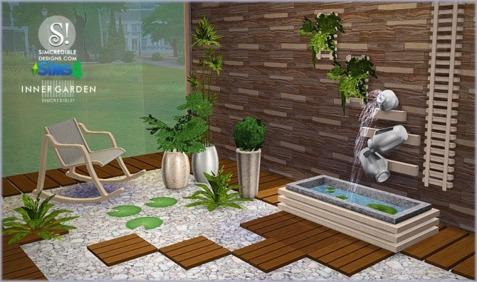 inner garden outdoor set at simcredible designs 4 sims