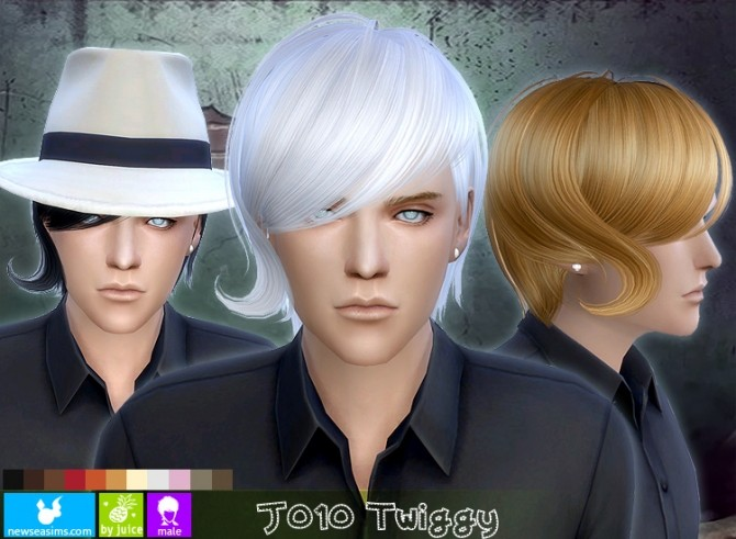 J010 Twiggy hair males (FREE) at Newsea Sims 4 image 167 670x491 Sims 4 Updates