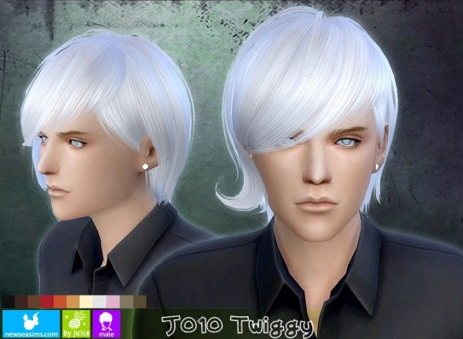 J010 Twiggy hair males (FREE) at Newsea Sims 4 image 168 670x491 Sims 4 Updates