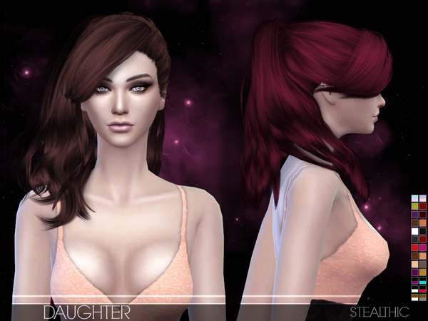 Daughter Female Hair by Stealthic at TSR image 1680 Sims 4 Updates