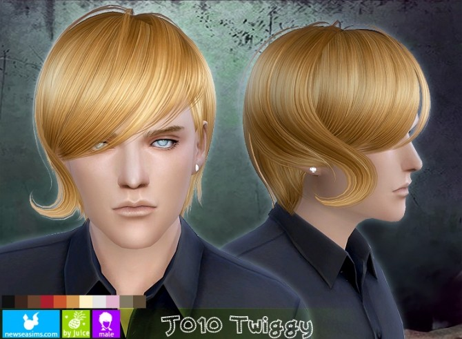 J010 Twiggy hair males (FREE) at Newsea Sims 4 image 169 670x491 Sims 4 Updates
