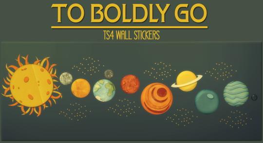 Wall stickers at Jorgha Haq image 1699 Sims 4 Updates