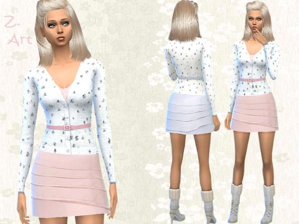 Pastello dress by Zuckerschnute20 at TSR image 1712 Sims 4 Updates