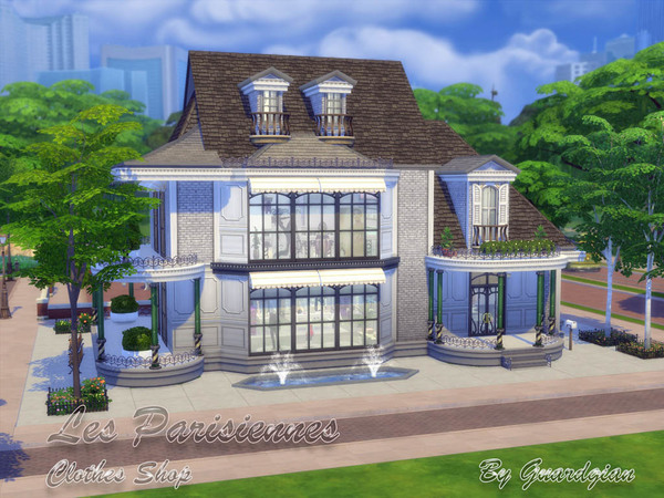 Les Parisiennes clothing shop by Guardgian at TSR image 17125 Sims 4 Updates