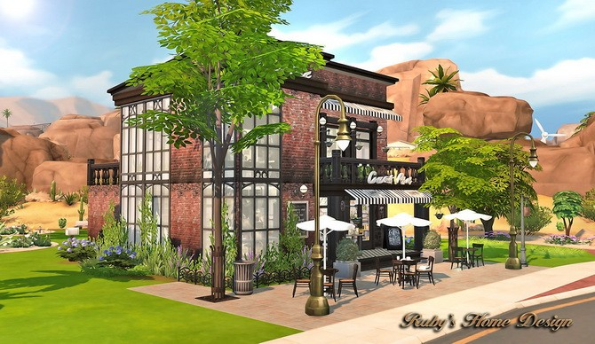 Sims 4 Deli & Grocery Store at Ruby's Home Design