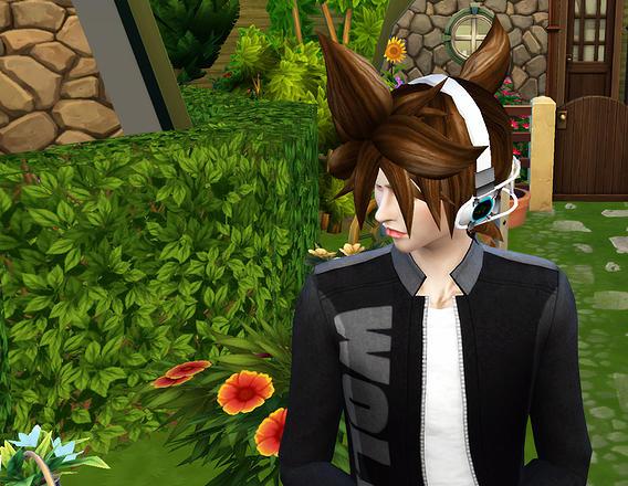 Animate Hair 17 REN at Studio K Creation image 17316 Sims 4 Updates
