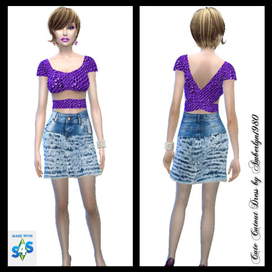 Ruffle Jeans Collection at Amberlyn Designs image 17516 Sims 4 Updates