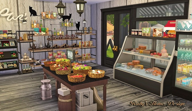 Deli & Grocery Store at Ruby's Home Design image 1762 670x388 Sims 4 Updates