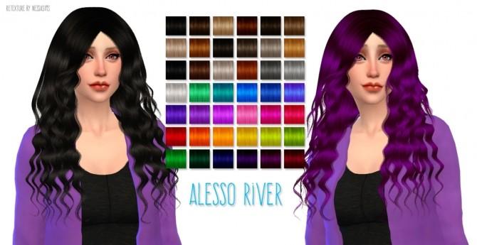 Hair Dump #3 at Nessa Sims image 17710 670x345 Sims 4 Updates