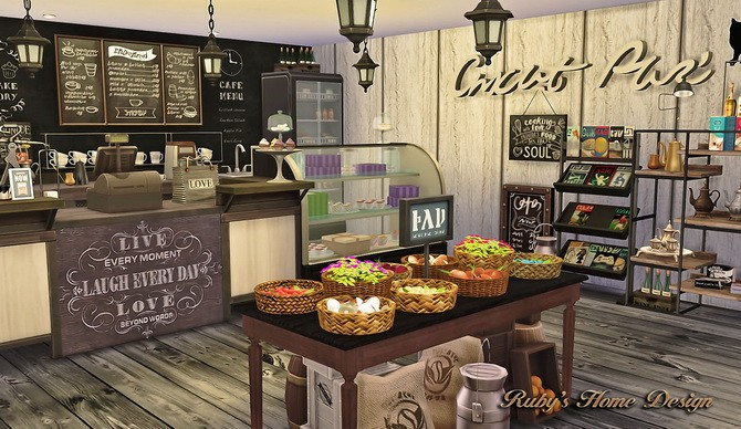 Deli & Grocery Store at Ruby's Home Design image 17711 670x388 Sims 4 Updates