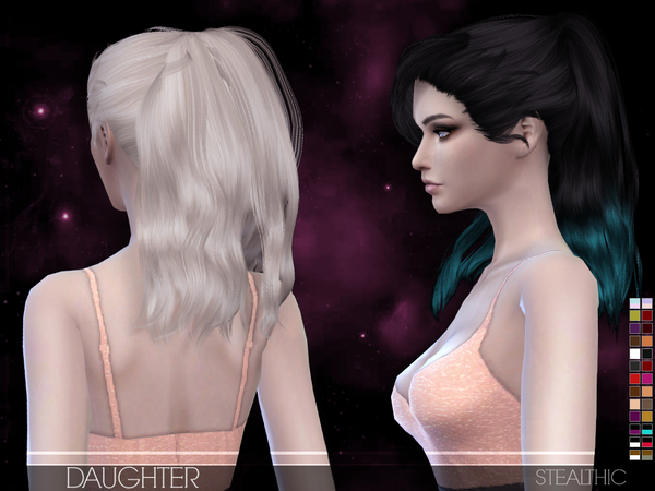Daughter Female Hair by Stealthic at TSR image 1780 Sims 4 Updates