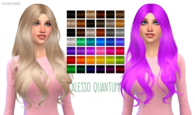 Sims 4 Hair Dump #3 at Nessa Sims