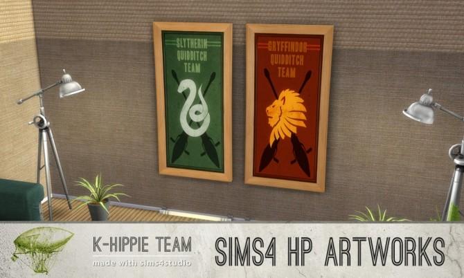 Sims 4 7 Artworks HP World Serie volume 2 at K hippie