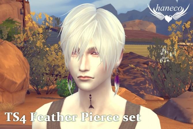 Feather Pierce set at HANECO'S BOX image 1795 670x450 Sims 4 Updates