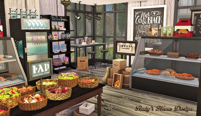 Deli & Grocery Store at Ruby's Home Design image 1801 670x388 Sims 4 Updates