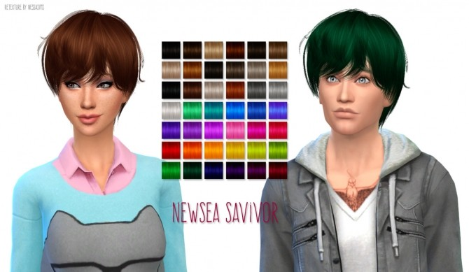 Hair Dump #3 at Nessa Sims image 18012 670x389 Sims 4 Updates