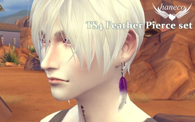 Feather Pierce set at HANECO'S BOX image 1806 670x419 Sims 4 Updates