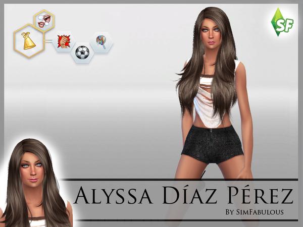 Alyssa Diaz Perez by SimFabulous at TSR image 1810 Sims 4 Updates
