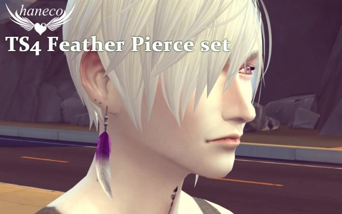 Feather Pierce set at HANECO'S BOX image 18111 670x419 Sims 4 Updates