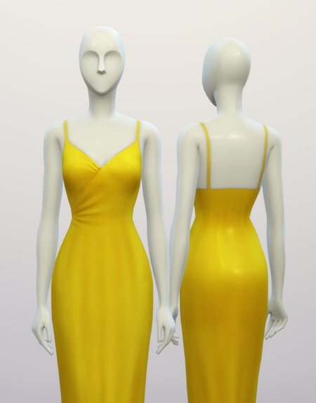 Basic Maxi Dress At Rusty Nail 187 Sims 4 Updates