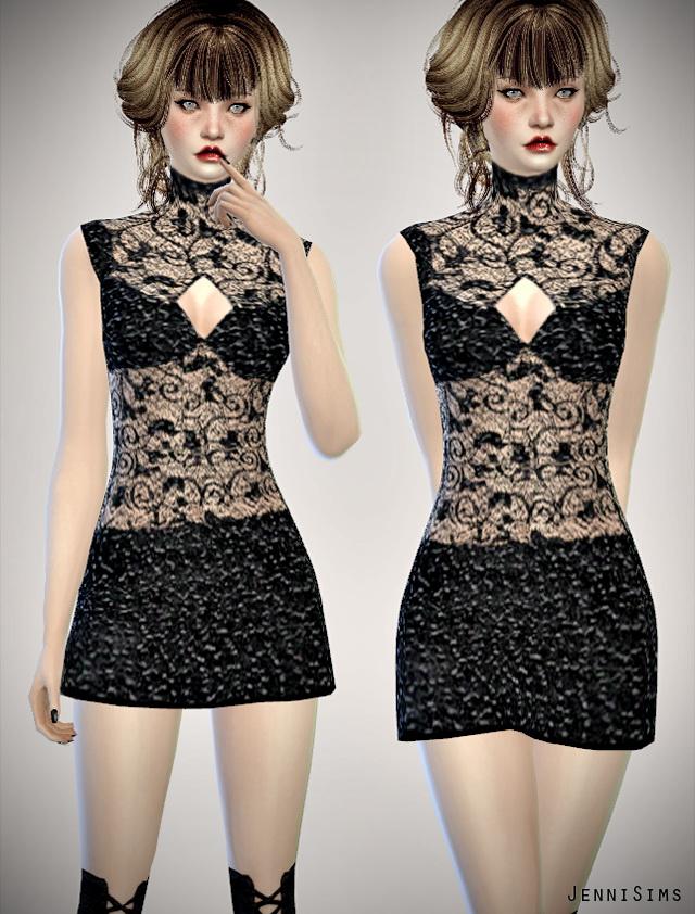 Sims 4 Dresses set by Jenni Sims at Jenni Sims